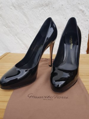 Gianvito Rossi Lackleder Pumps