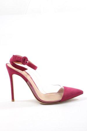 Gianvito rossi Slingback-Pumps pink Elegant