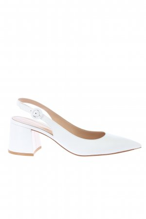 Gianvito rossi Slingback-Pumps weiß Business-Look