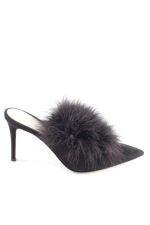 Gianvito rossi Spitz-Pumps schwarz extravaganter Stil