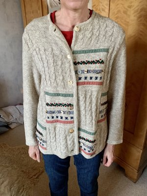 Giesswein Coarse Knitted Jacket multicolored