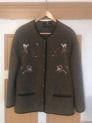 Giesswein Tradycyjna kurtka szaro-brązowy
