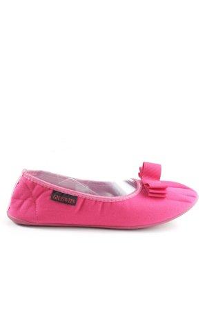 Giesswein faltbare Ballerinas pink Casual-Look