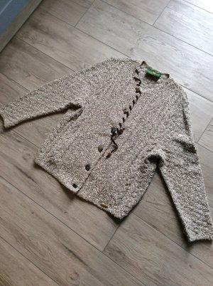 Giesswein Veste tricotée en grosses mailles multicolore