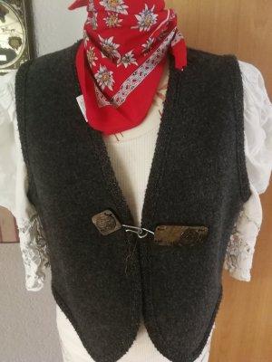 Giesswein Traditional Vest dark grey