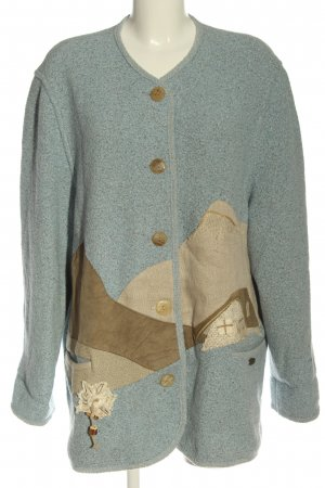 Giesswein Wool Blazer blue-brown casual look