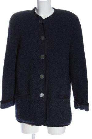 Giesswein Giacca di lana blu stile professionale