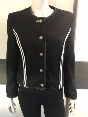 Giesswein Wełniany sweter czarny-biały