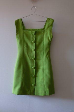 giftgrünes Minikleid