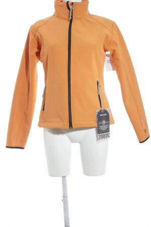 Giga Dx Outdoorjacke orange-schwarz Casual-Look