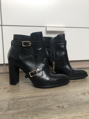 Gigi Hadid x Tommy Hilfiger Booties black-gold-colored
