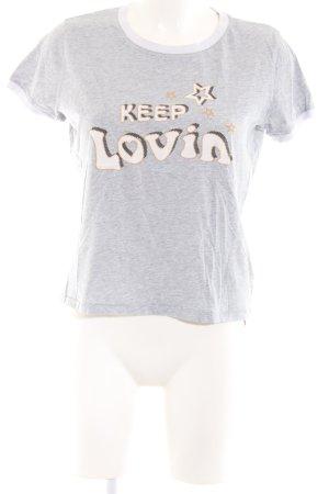 Gigi Hadid x Tommy Hilfiger T-Shirt Motivdruck Casual-Look