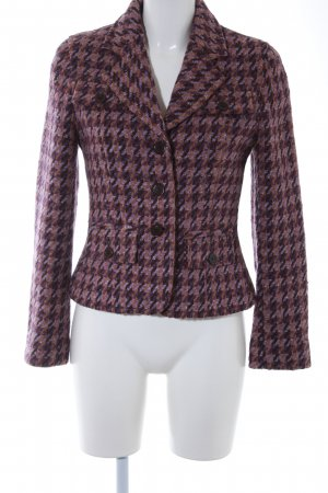 Gigue Woll-Blazer abstraktes Muster Casual-Look