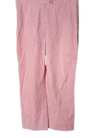 Gil Bret Pantalone a 7/8 bianco-rosa stampa integrale elegante
