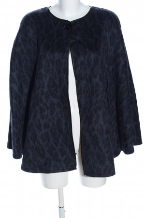 Gil Bret Cape blau-schwarz Animalmuster Business-Look