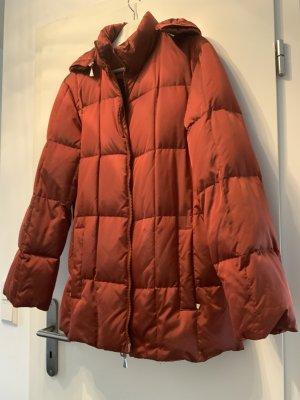 Gil Bret Down Jacket dark orange acetate