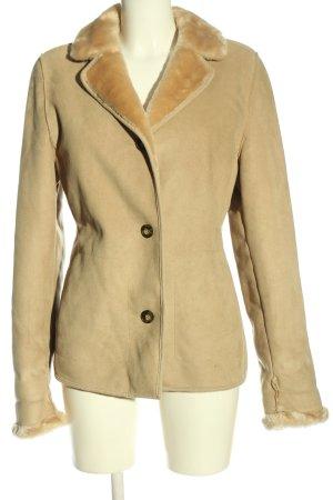 Gil Bret Fur Jacket cream casual look