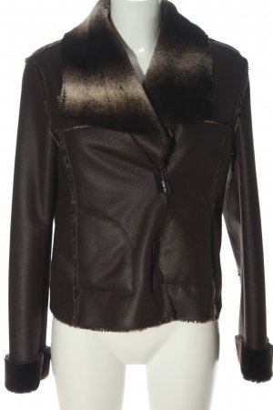 Gil Bret Fake Fur Jacket brown-natural white casual look