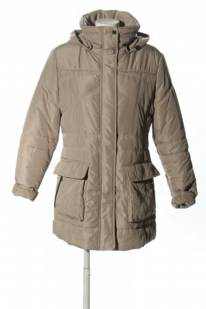 Gil Bret Quilted Coat light grey quilting pattern casual look