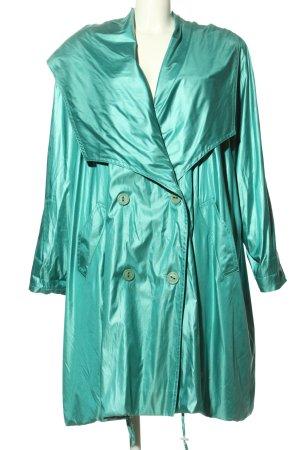 Gil Bret Between-Seasons-Coat turquoise casual look