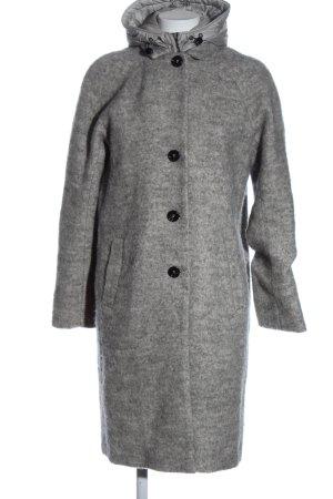 Gil Bret Between-Seasons-Coat light grey flecked elegant