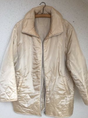 Gil Bret Quilted Jacket cream-oatmeal viscose