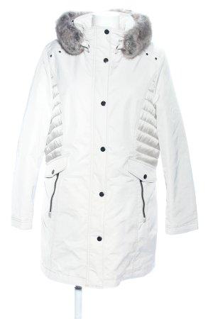 Gil Bret Kurtka zimowa biały Pikowany wzór W stylu casual