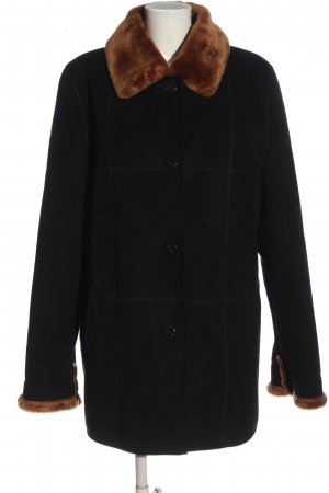 Gil Bret Winter Coat black-brown casual look