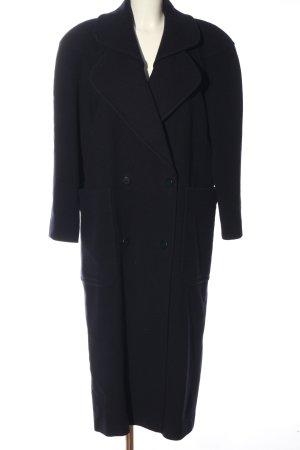 Gil Bret Cappotto in lana nero stile casual