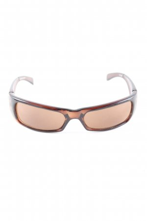 Gil eckige Sonnenbrille braun Casual-Look