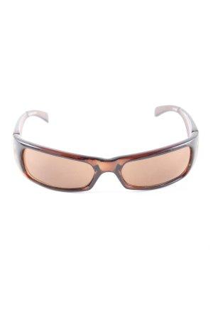 Gil Angular Shaped Sunglasses brown casual look