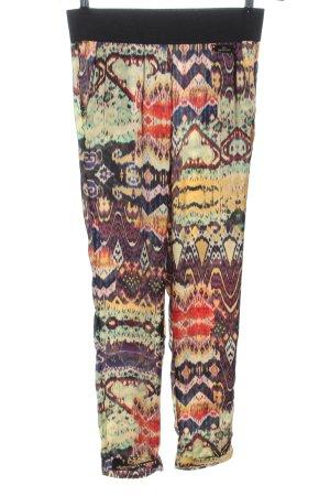 Gil Santucci Pantalon «Baggy» motif abstrait style décontracté
