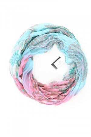 Gil Scarf blue-neon blue-dark blue-azure polyester