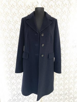 gilbert Wool Coat dark blue