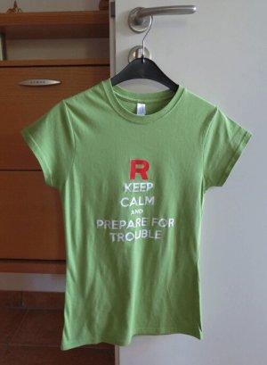 Gildan T-shirt verde prato Cotone