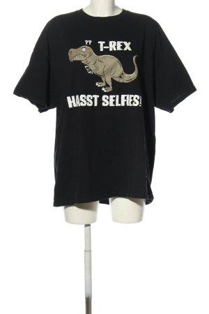 Gildan Print-Shirt Motivdruck Casual-Look