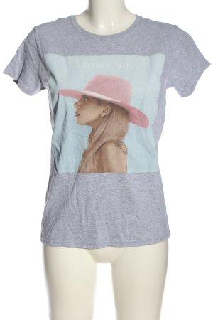 Gildan Print Shirt flecked casual look