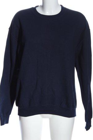Gildan Sweatshirt blau Casual-Look