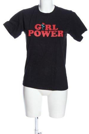 Gildan T-shirt caratteri stampati stile casual