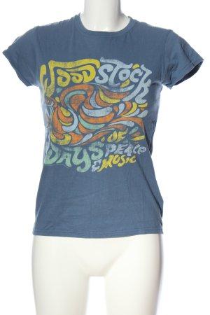 Gildan T-Shirt Motivdruck Casual-Look