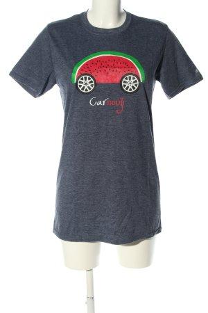 Gildan T-Shirt flecked casual look