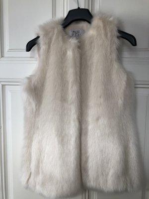 Zara Trafaluc Fur vest multicolored