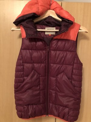 Only Gilet en duvet multicolore