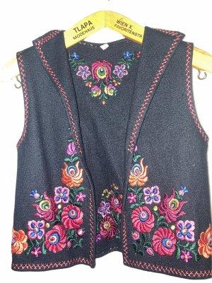 Gilet bavarois multicolore