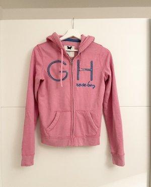 Gilly Hicks by Hollister Hoodie Sweatshirt Pink Glitzer S
