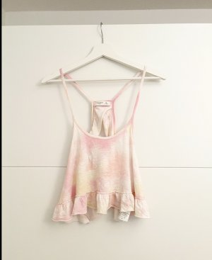 Gilly Hicks Frill Top multicolored