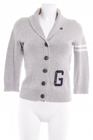 Gilly Hicks Cardigan meliert Casual-Look