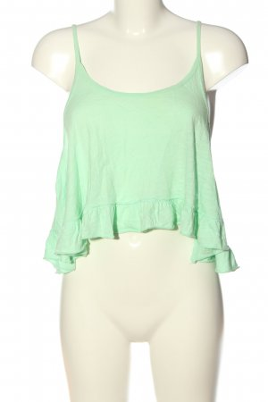 Gilly Hicks Cropped top groen casual uitstraling