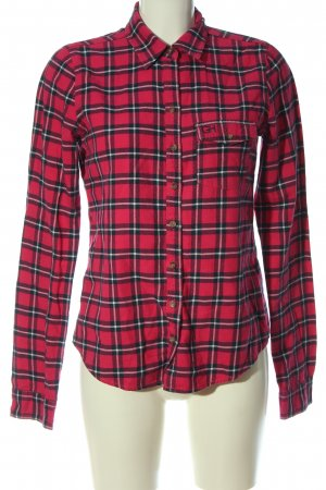Gilly Hicks Lumberjack Shirt red-black allover print casual look
