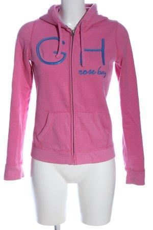 Gilly Hicks Bluza z kapturem różowy-niebieski W stylu casual